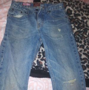 Arizona jean boys blue ripped jeans